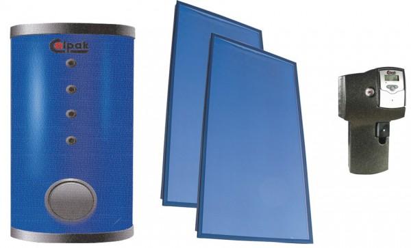 Solarthermie Komplettpaket mit Flachkollektor F2-300