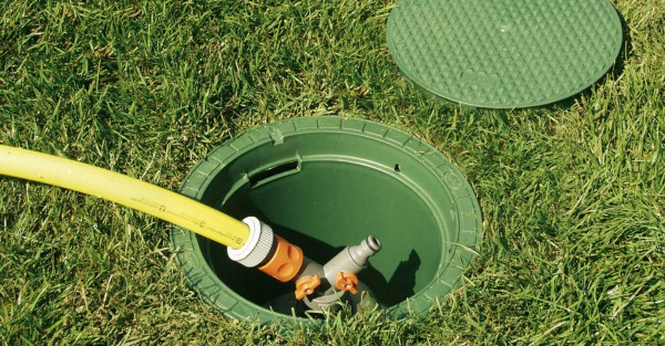 Garantia Wassersteckdose Extern