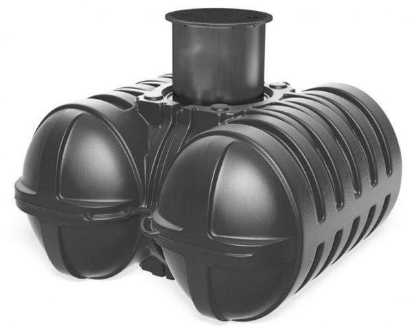 Roth Regenwasser Flachspeicher Twinbloc 5000 L